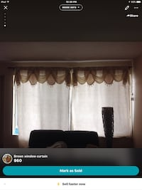 brown window curtain screenshot