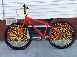 Custom Red Big Ripper Se Bike 29 Inch