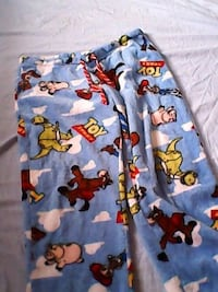 Toy story soft pants size large LINCOLN