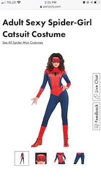 Adult Spider Woman Halloween Costume Vancouver, V5Y 1R8