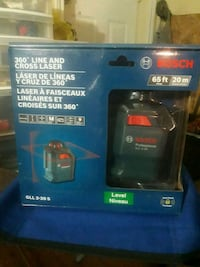 Bosch 360°Line and Cross Laser Level BRAND NEW