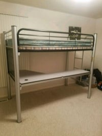 Twin bunk over desk Holland, 49423