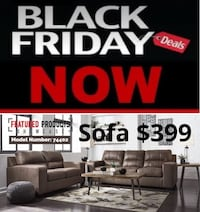 Sofa or love seat $399 no credit check financing  Roslyn Heights, 11577