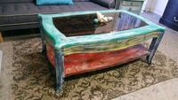 Eclectic Chic Coffee Table  Los Angeles