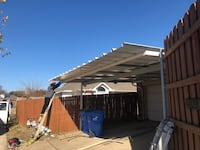 Professional Carports installed Norman