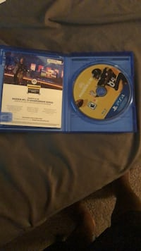 PS4 NBA 2K17 game disc Raleigh, 27615