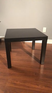 rectangular black wooden coffee table Laval, H7X 0A9