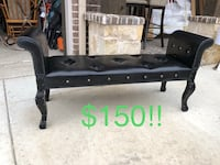 black and brown wooden bench Wylie, 75098