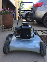 """Murray lawnmower 4.5 horse power 21"""" cut deck 3 in 1 combo mulch bag and side discharge high performance start right up  Colorado Springs, 80922"""
