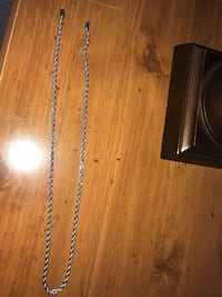 Silver Rope Chain bought for $80 Falls Church, 22043