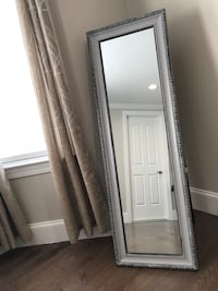 Free standing floor mirror that is 60 inches in height. Foxboro, 02035