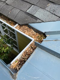 Gutter cleaning and installation as well gutter guards Alexandria