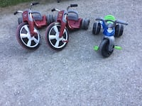 Three big wheel trikes Casco, 48064