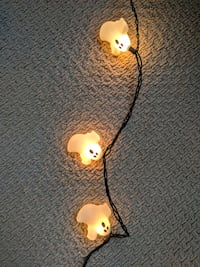 The cutest ghost string lights - Halloween decor