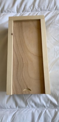 Hand-Crafted wooden box w/sliding lid Albuquerque, 87123