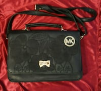 Black and gray coach leather crossbody bag Falls Church, 22043