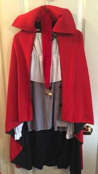 Adult one size Dracula costume Mississauga, L5W 1H7