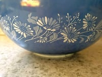Pyrex 444 Colonial Mist Cinderella Mixing Bowl