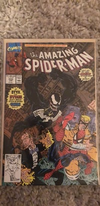 The Amazing Spider-Man 333 comic book Toronto, M6M