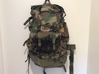 Woodland camo cfp-90 military backpack Independence, 41051