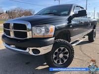 2006 *Dodge Ram 2500* 4X4 SLT 5.7L HEMI QUAD CAB LONG BED LIFTED WE FINANCE Akron, 44301