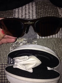 black framed sunglasses with case Calgary, T2A 4Z6