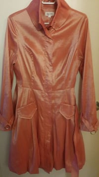 women's orange long-sleeved dress Mississauga, L4W 2X9