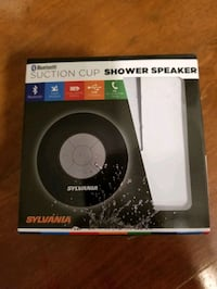 Sylvania Bluetooth suction cup shower speaker
