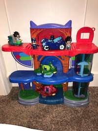PJ Mask HQ, cars and figures Glen Burnie, 21061