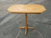 rectangular brown wooden table Toronto, M6E 4W7