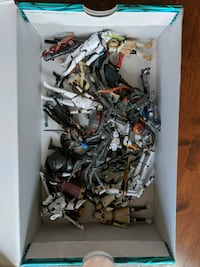 Star wars action figures negotiable