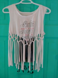LADIES MACRAME TANK