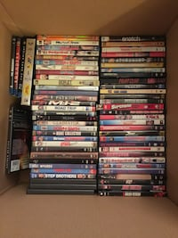 75 Assorted DVDs (mainly comedy)