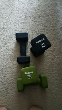 Rebook.weights..10 and 12 lb Alexandria, 22304