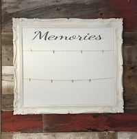Antique Wooden Photo Display