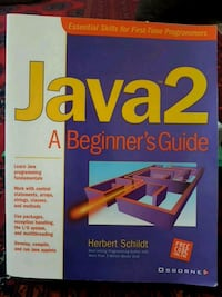 The Official java study guide book Toronto, M4A 1W3