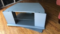 TV stand with swivel base and shelf Toronto, M3A 1S9