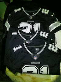 black and white NFL NFL jersey Dallas, 75265