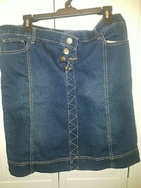 Denim jean skirt size 14 Capitol Heights, 20743