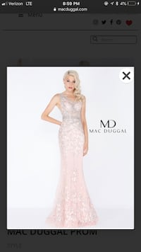 Mag Duggal prom/pageant dress Old Bridge, 08857