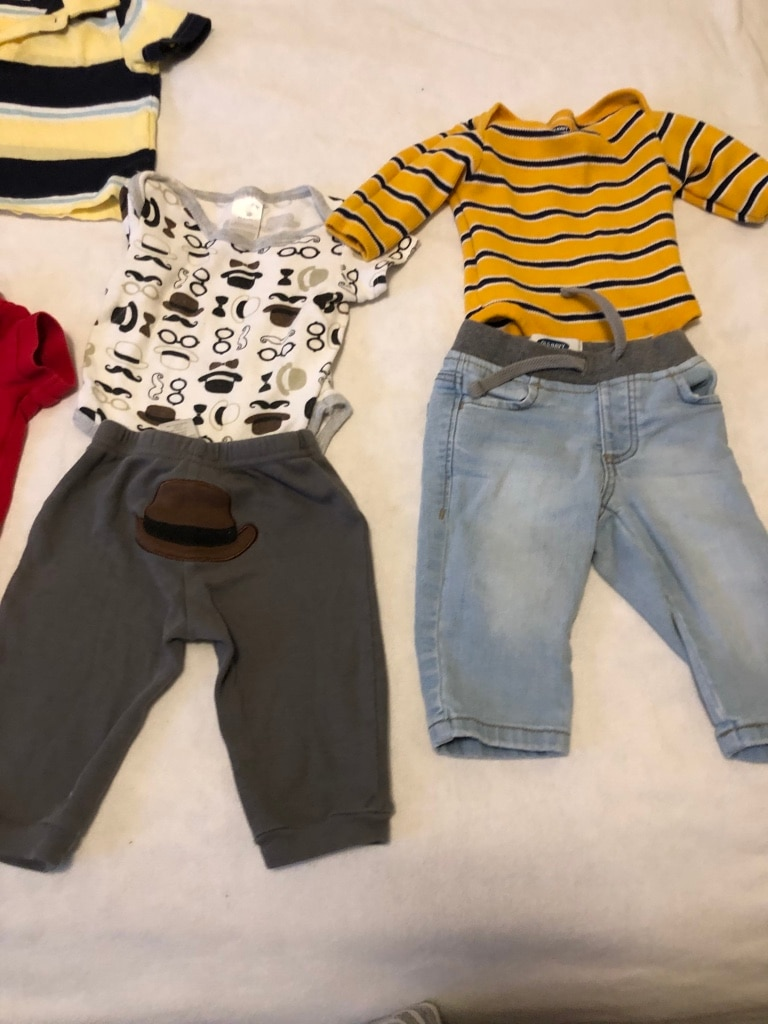 Photo Baby boy clothes size 3-6 months