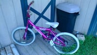 toddler's pink and white bicycle York Haven, 17370