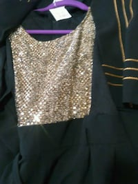 Sequin jump suit with jacket