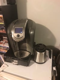 Gray and black keurig coffeemaker West Jordan, 84084