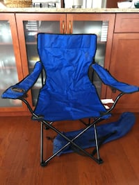 Blue folding camping chair Montréal, H4L 5M4