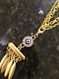Price for one local Handmade evil eye necklace Lutherville Timonium, 21093
