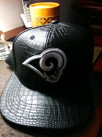 Leather new era hat team rams snap back La Puente