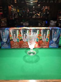 Crystal Hurricane Candle Holders by St George Edmonton, T6L 4G9