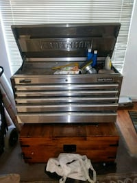 silver Craftsman tool chest San Jose, 95118