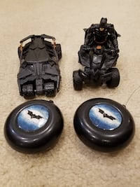 Batman Remote Control Batmobile & Quad Striker ATV